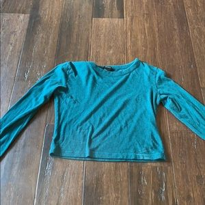 Forever 21 Long Sleeve Crop Top Size S